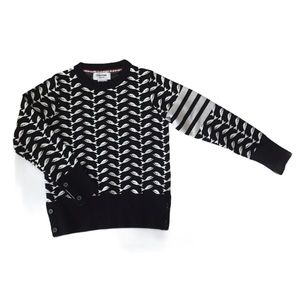 Thom Browne Whale Jacquard Sweater